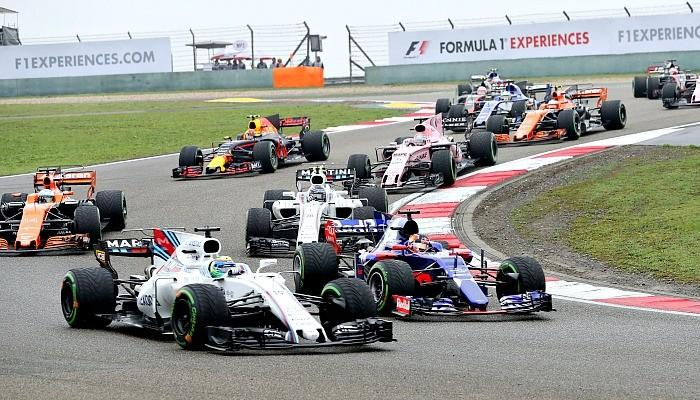 Largada GP da China