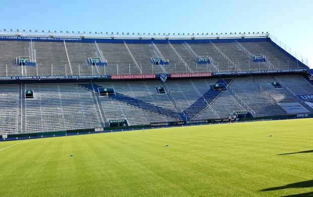 Ponte Preta treino estádio José Amalfitani Buenos Aires (Foto: Heitor Esmeriz)