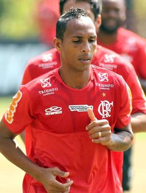 Liedson no treino do Flamengo (Foto: Bernardo Monteiro / VIPCOMM)
