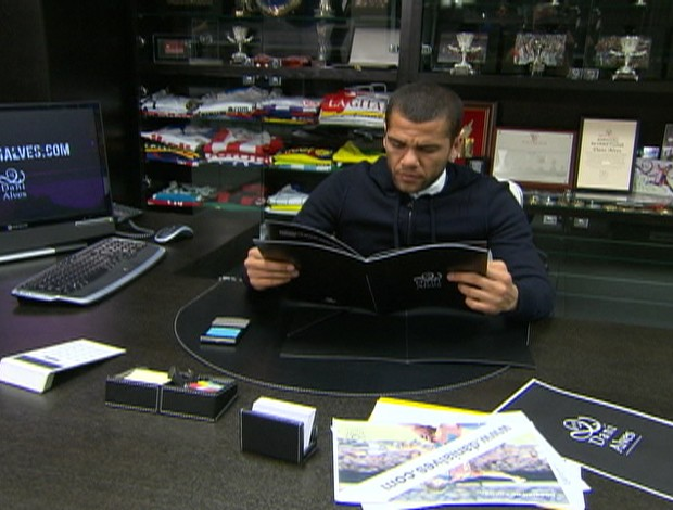 Daniel Alves (Foto: Reprodução/TV Globo)