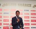"""Luis Suárez recebe a Chuteira de  Ouro e diz: """"Quero encerrar no Barça"""""""