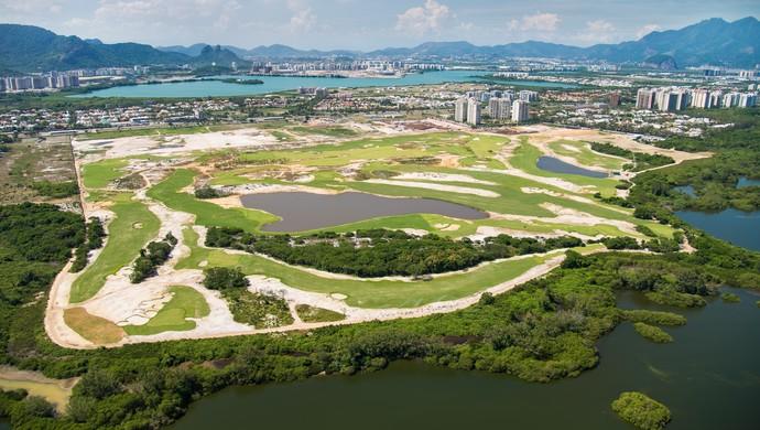 Campo de golfe Olimpíada Rio 2016 (Foto: Alex Ferro / Rio 2016)
