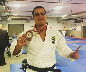 David Moura, judô (Foto: Reprodução/Instagram)