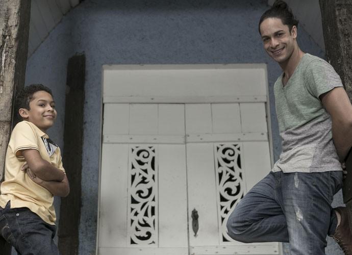 Rainer Cadete sobre filho: Ele foi a melhor coisa que aconteceu (Foto: Inácio Moraes/Gshow)
