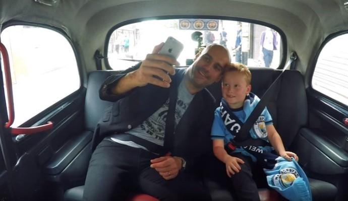 Pep Guardiola Manchester City (Foto: Reprodução/YouTube)