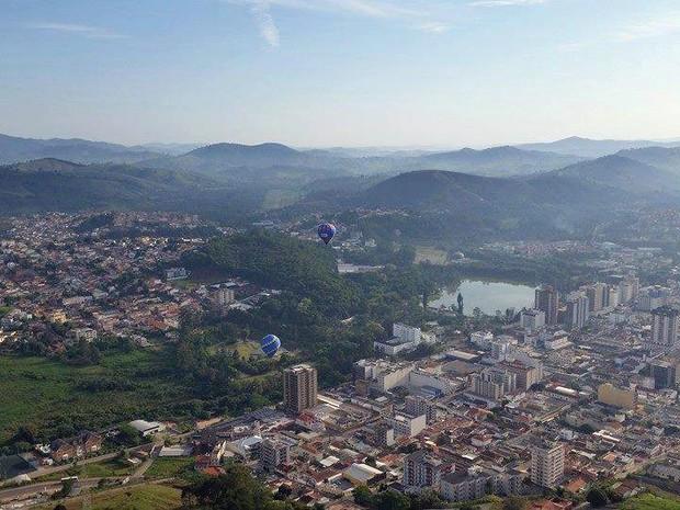 Vista áerea de São Lourenço (Foto: Prefeitura de São Lourenço/ Divulgação)