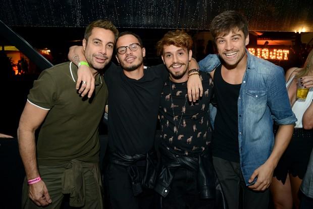 Fernando Torquatto, Fabinho Cal, Christian Monassa e Raphael Sander (Foto: George Magaraia/ MS Fotos - Divulgação)