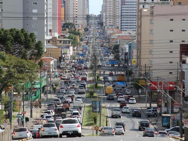 Veículos Detran-PR (Foto: Divulgação/Detran)