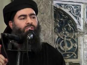 Abu Bakr al-Baghdadi em vídeo divulgado pelo Estado Islâmico em 5 de julho de 2014 (Foto: AP Photo/Militant video)