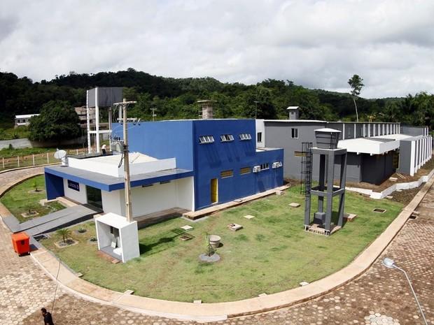 Centro de Triagem masculina, penitenciária de Santarém (Foto: Thiago Gomes/Ascom Susipe)