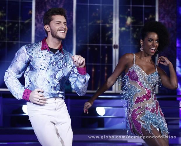 Klebber Toledo - Dança dos Famosos (Foto: Domingão do Faustão / TV Globo)