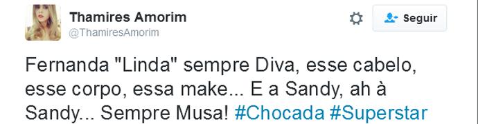 Fernanda Lima Twitter (Foto: Reprodução)