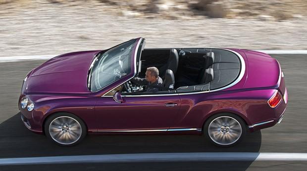 Bentley Continental GT Speed Convertible (Foto: Divulgação)
