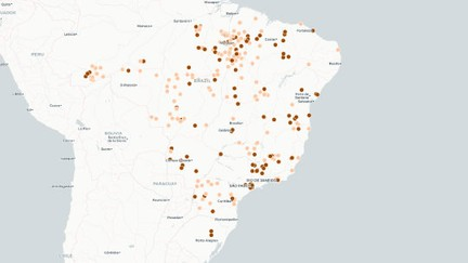1.122 pessoas foram libertadas em 2 anos; mapa indica locais