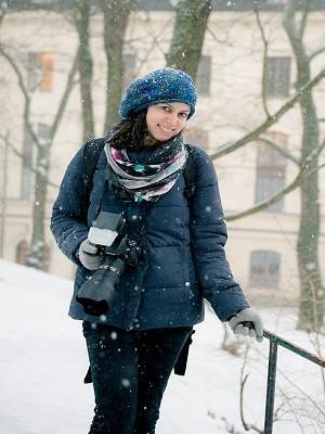 Radicada em Estogolmo, a fotógrafa Silvia Alcantara leu a matéria do G1 sobre a história do casal e se ofereceu para fotografar o casamento (Foto: Maria Djurberg/Acervo Pessoal)