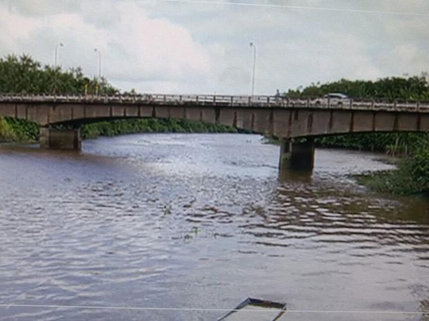Ponte permite ligação entre Belém e municípios do nordeste do Pará, como Salinas (Foto: Reprodução / TV Liberal)