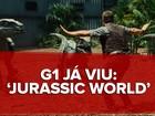 'Jurassic world' renova franquia com fera transgênica e novo herói: G1 já viu