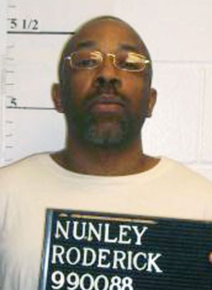 Roderick Nunley em foto de abril de 2014 (Foto: Missouri Department of Corrections via AP)