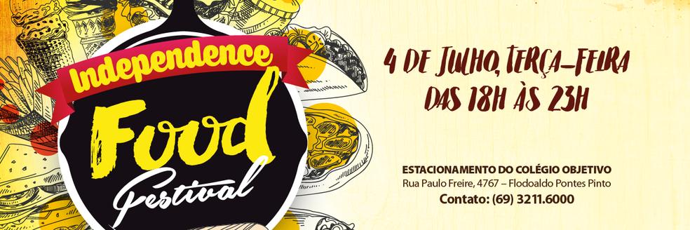 Idependence Food Festival será realizado na terça (4) em Porto Velho (Foto: Assessoria/ Divulgação )