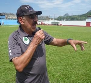 Américo Faria, treinador do Boavista (Foto: Pedro Carrion / Assessoria de Imprensa)