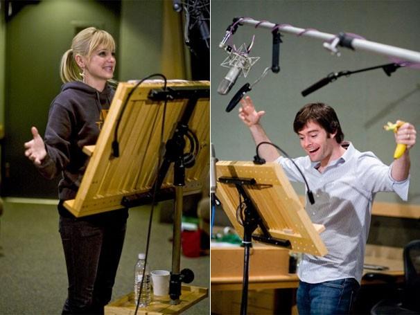 Anna Faris e Bill Hader dublam os protagonistas da história (Foto: divulgação)