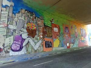 Tema das pinturas era livre (Foto: Divulgação / Maxx Figueiredo)