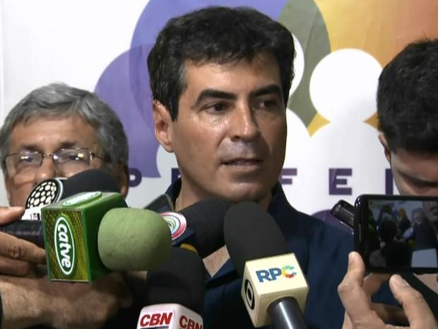 Marcelo Belinati (PP) foi eleito prefeito de Londrina, no norte do Paraná (Foto: Reprodução/RPC)