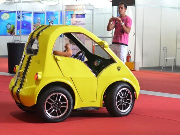 Nanico custa R$ 15 mil a gasolina; elétrico deve chegar aos R$ 20 mil (Foto: Peter Fussy/G1)