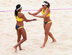 Juliano e Larissa vôlei de praia (Foto: Getty Images)