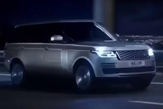 Vazam primeiras imagens do Range Rover reestilizado (Foto: Reprodução / YouTube)