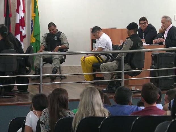 Ivamar de Paiva Barreto foi condenado no 2º Tribunal do Júri. (Foto: Reprodução/TV Cabo Branco)