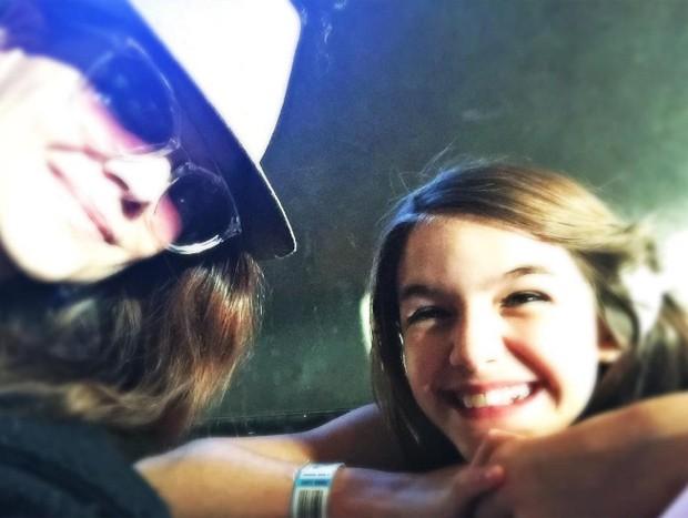 Katie Holmes e Suri Cruise (Foto: Reprodução/Instagram)