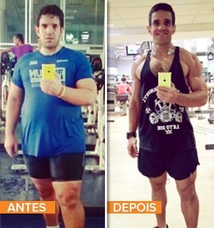EuAtleta minha história Edu_Ribeiro antes e depois (Foto: Eu Atleta)