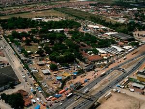Parque de Exposições Aristófanes Fernandes, em Parnamirim, palco da Festa do Boi (Foto: Divulgação/Anorc)