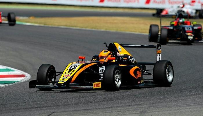 Giuliano Raucci, piloto da Fórmula 4 Europeia