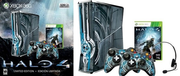 Xbox 360 ter&#225; edi&#231;&#227;o especial do game 'Halo 4' (Foto: Divulga&#231;&#227;o)