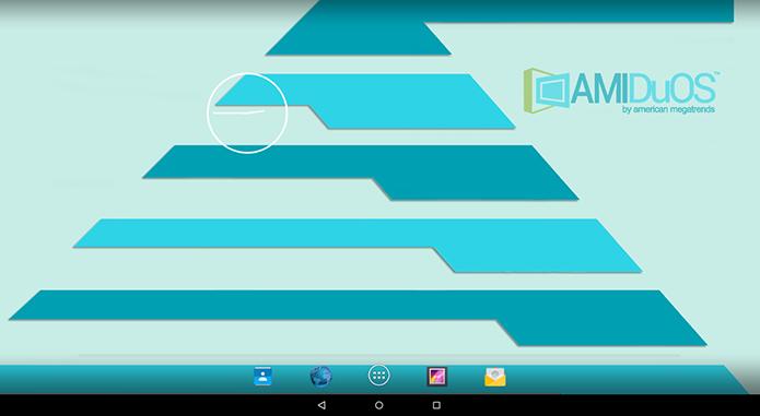 Design do DuOS é fiel ao Material Design estreado no Android 5.0 (Foto: Reprodução/Paulo Alves)