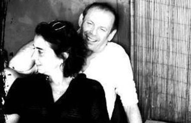 Claudia Magalhães e José Wilker (Foto: Facebook)