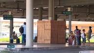 Moradores questionam instalação de tapumes no Terminal de Jardim América, em Cariacica