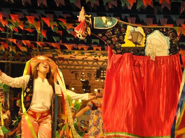 Praça Maria Aragão será o palco de apresentação de diversos grupos folclóricos (Foto: Divulgação)