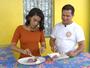 Domingo (4): filé Mignon com purê de cará roxo no Amazônia Rural