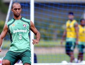 Leandro Euzébio treino Fluminense (Foto: Dhavid Normando / Photocamera)
