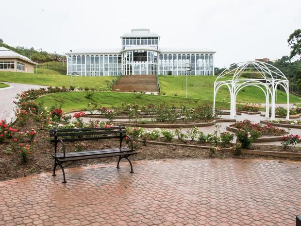 Jardim Botânico terá estufaz para cultivo e pesquisa de espécies da região (Foto: Alexandre Lombardi/Prefeitura de Sorocaba)