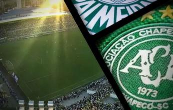 SporTV tem Chape x Palmeiras e Corinthians x São Paulo no sábado