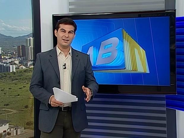 Anderson Melo comanda o ABTV 1ª Edição (Foto: Reprodução/ TV Asa Branca)