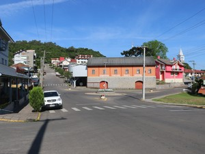 Fotos panorâmica e gerais de Nova Pádua-RS (Foto: Estêvão Pires/G1)