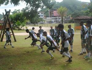 Treinamento do Espírito Santo, em Vargem Alta (Foto: Divulgação/Espírito Santo FC)