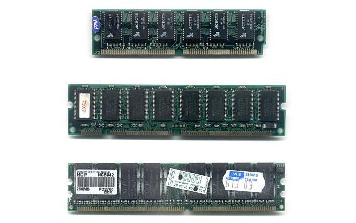 Veja a diferença entre as memórias RAM estática e dinâmica (Foto: Reprodução/Creative Commons)