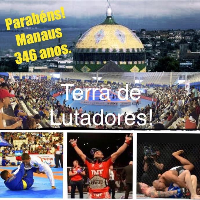 Homenagens no aniversário de Manaus (Foto: Reprodução/Facebook FJJAM)