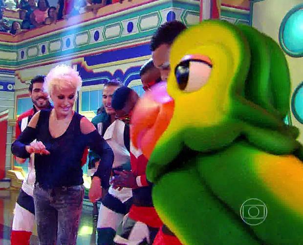 Ana Maria dança funk no Esquenta! (Foto: Esquenta!/TV Globo)